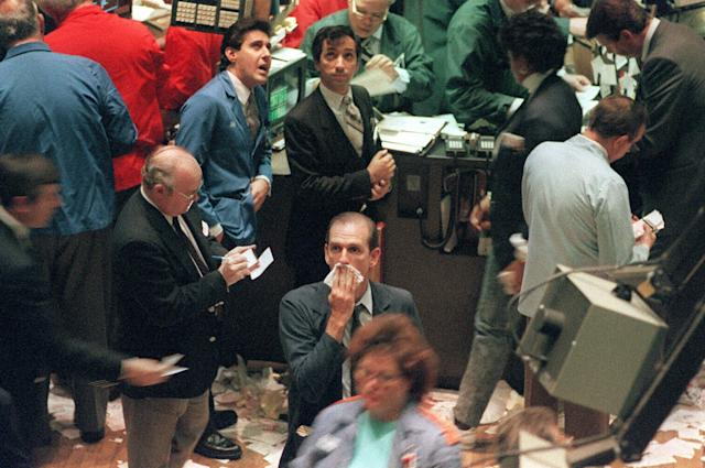 The 1987 market crash defined Wall Street for a generation of investors.