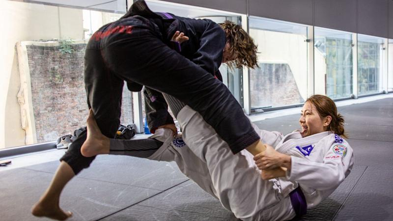 A BJJ class is a mental workout as well as a physical workout. (PHOTO: Evolve MMA)