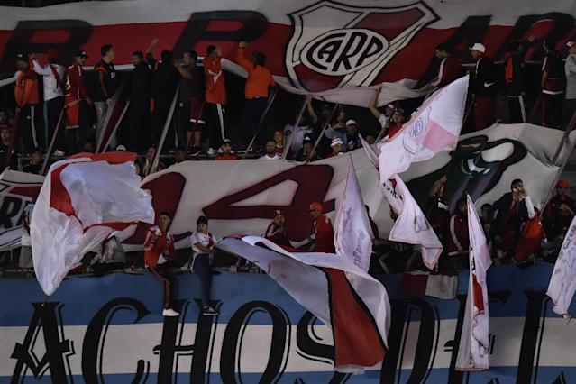 Fans de River Plate. (Getty Images)