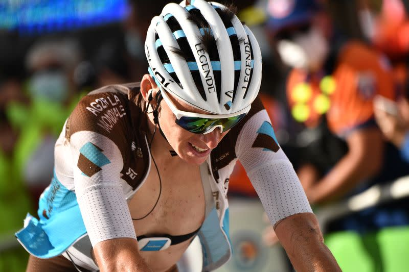 Bardet suffered brain bleeding after Tour concussion