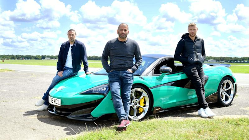 Top Gear shows off socially distanced audience while filming for new series