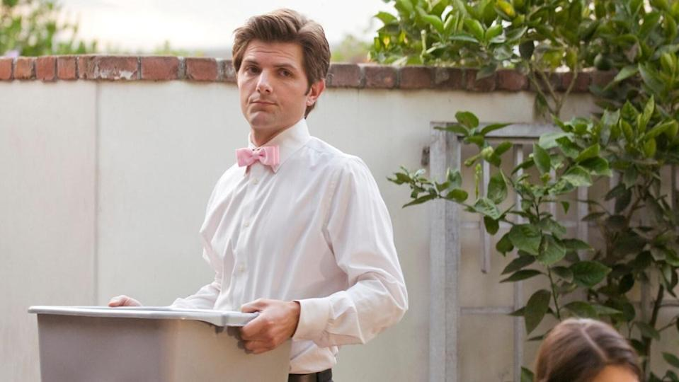 Adam Scott in Party Down, a show about caterers.