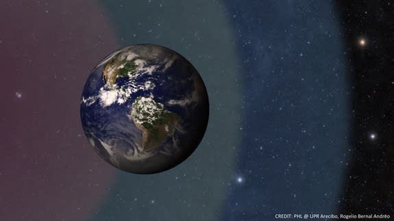 A new definition of the habitable zone around planets, denoting where liquid water could exist, shifts Earth toward the very edge of the solar system's own habitable zone.