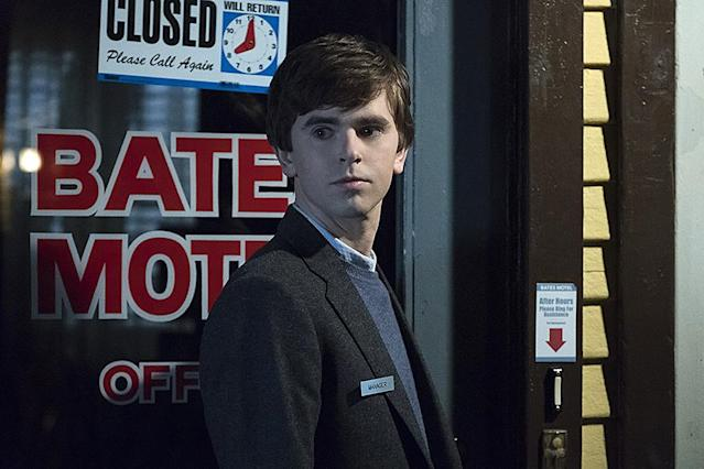 <p>If you're loving Freddie Highmore on <i>The Good Doctor</i>, continue your TV crushdom by checking out his layered performance as Norman Bates (the prequel, TV version of the famous <i>Psycho</i> character). Smart, heartbreaking, and funnier than you will expect such dark matter to be, the incredibly well-written and acted drama honored <i>Psycho</i> while putting a fresh spin on the story with its deep dive into the endearing, possibly doomed Bates family. <em>— K.P.</em><br><br><em>Available to stream: Netflix, Amazon Prime Video</em><br><br>(Photo: A&E) </p>
