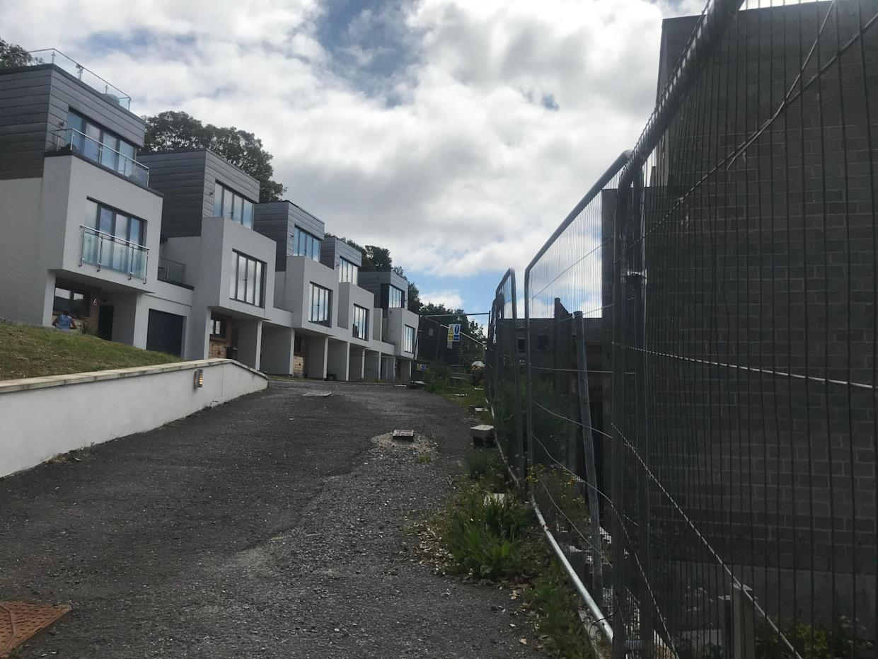 A couple have been left living on a deserted housing estate for the last three-and-a-half years (SNWS)