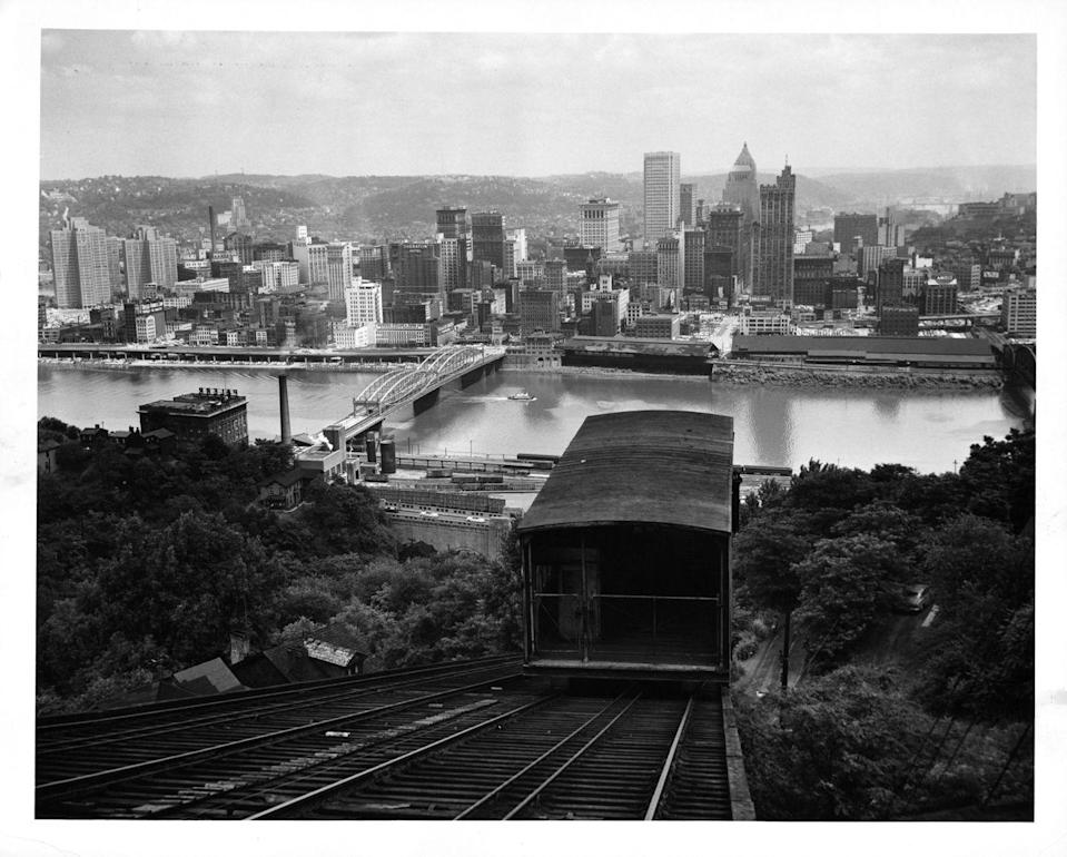 """<p><a href=""""https://historicpittsburgh.org/collection/kaufmanns-department-store-photographs"""" rel=""""nofollow noopener"""" target=""""_blank"""" data-ylk=""""slk:Kaufmann's was founded in Pittsburgh in 1871"""" class=""""link rapid-noclick-resp"""">Kaufmann's was founded in Pittsburgh in 1871</a> as a men's tailoring and ready-to-wear store by two brothers. Two more brothers joined a few years later. The store grew into a chain of nearly 60 stores in the East. The company was acquired a few times before Macy's purchased and rebranded it in 2006. Sadly, many Macy's stores, including the original Kaufmann's flagship store, have since closed.<br></p>"""