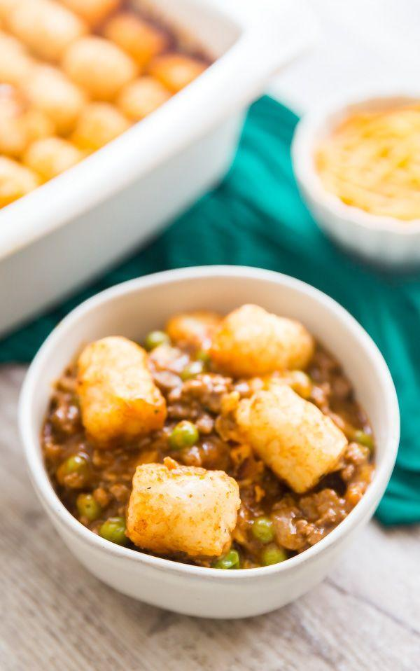 """<p>You can whip this up with items that are likely around your kitchen already, and it's guaranteed to please—because tater tots are always the answer.</p><p><strong>Get the recipe at <a href=""""https://www.thelifejolie.com/tater-tot-casserole-recipe/"""" rel=""""nofollow noopener"""" target=""""_blank"""" data-ylk=""""slk:The Life Jolie"""" class=""""link rapid-noclick-resp"""">The Life Jolie</a>.</strong> </p>"""