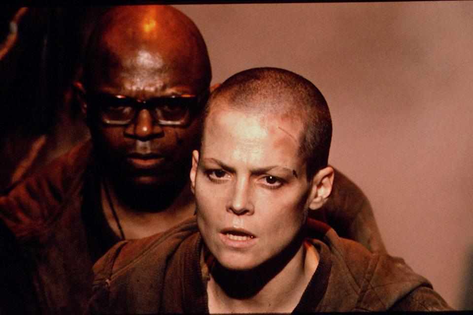<p>When Sigourney Weaver reprised her role as Ellen Ripley in <em>Aliens 3</em>, her character was seen with a bold new shaved head. However, in order to pull it off, the actress sported the look in real life. </p>