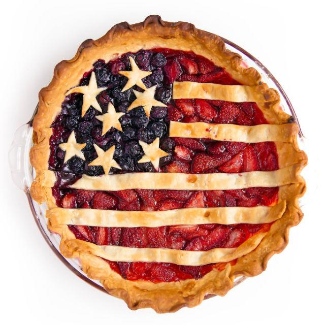 "<p>Why not celebrate Memorial Day in the most American way possible? This flag-themed pie is almost — <em>almost! </em><span>— too pretty to dig into.</span></p><p><strong>Get the recipe at <a rel=""nofollow"" href=""http://bromabakery.com/2015/06/miss-american-pie.html"">Broma Bakery</a>.</strong></p>"