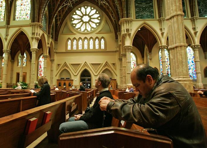 Roman Catholics make up 20 percent of the population in the United States (AFP Photo/Brian Kersey)