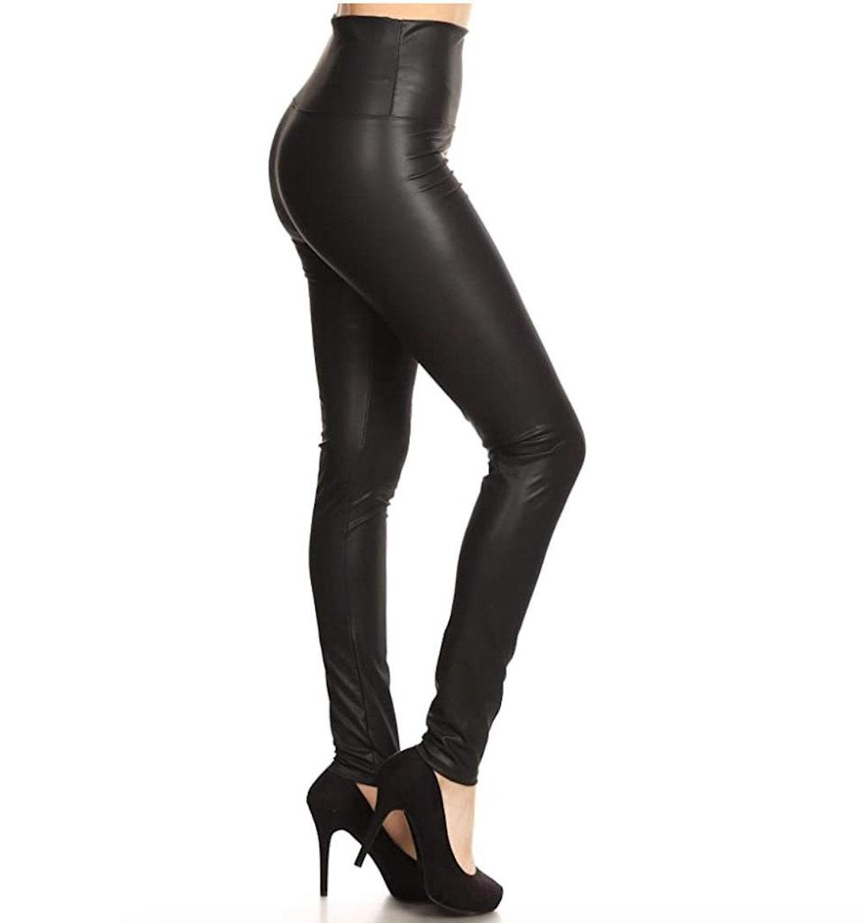 """<p><strong>Reviews & rating:</strong> 18,798 reviews, 4.4 out of 5 stars.</p> <p><strong>Key selling points:</strong> These stretchy printed tights are another $8 gem from The Legging Depot. Reviewers claim they offer next-level stretch and that the buttery-soft fabric and wide waistband can't be beat! </p> <p><strong>What customers say:</strong> """"I bought these leggings in several prints and absolutely love them. They are just as soft as LuLaRue and other expensive leggings for a third the price. The fit is excellent, the prints look the same in person as they do online, and they have held up well through a couple of washes. I especially love that the waist is high enough that I don't have to keep pulling them up, as I do with some of my other leggings. What an awesome product!"""" —<a href=""""https://amzn.to/3e5adHp"""" rel=""""nofollow noopener"""" target=""""_blank"""" data-ylk=""""slk:Tara"""" class=""""link rapid-noclick-resp""""><em>Tara</em></a><em>, reviewer on Amazon</em></p> $8, Amazon. <a href=""""https://www.amazon.com/Leggings-Depot-R595-PLUS-Print-Superfemme/dp/B07HXVSQYX/ref="""" rel=""""nofollow noopener"""" target=""""_blank"""" data-ylk=""""slk:Get it now!"""" class=""""link rapid-noclick-resp"""">Get it now!</a>"""