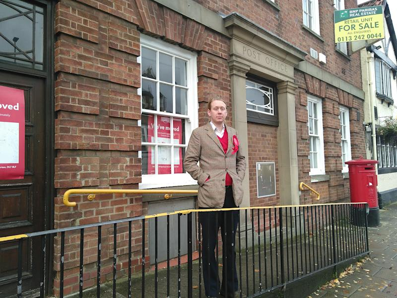Thom Kirkwood, Labour's candidate for Richmond, is the first publicly non-binary person standing for election to Parliament.
