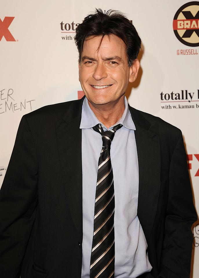 Charlie Sheen attends the FX Summer Comedies Party at Lure on June 26, 2012 in Hollywood, California.