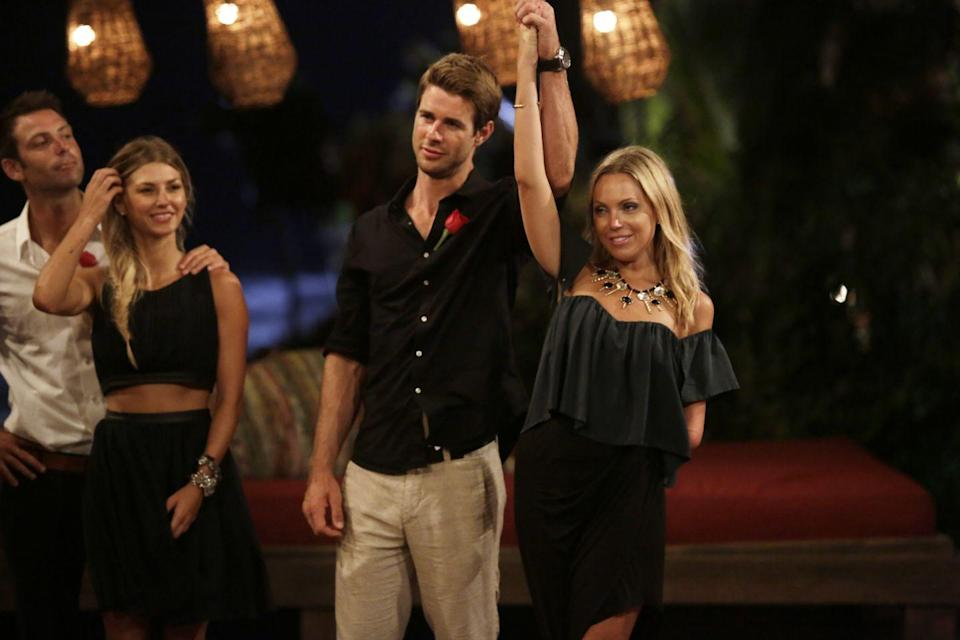 <p>Sarah and Robert were a fan-favorite couple on season 1, which is why fans were shocked when Sarah decided to end things before they left paradise. She apparently felt rejected by Robert in the fantasy suite. </p>