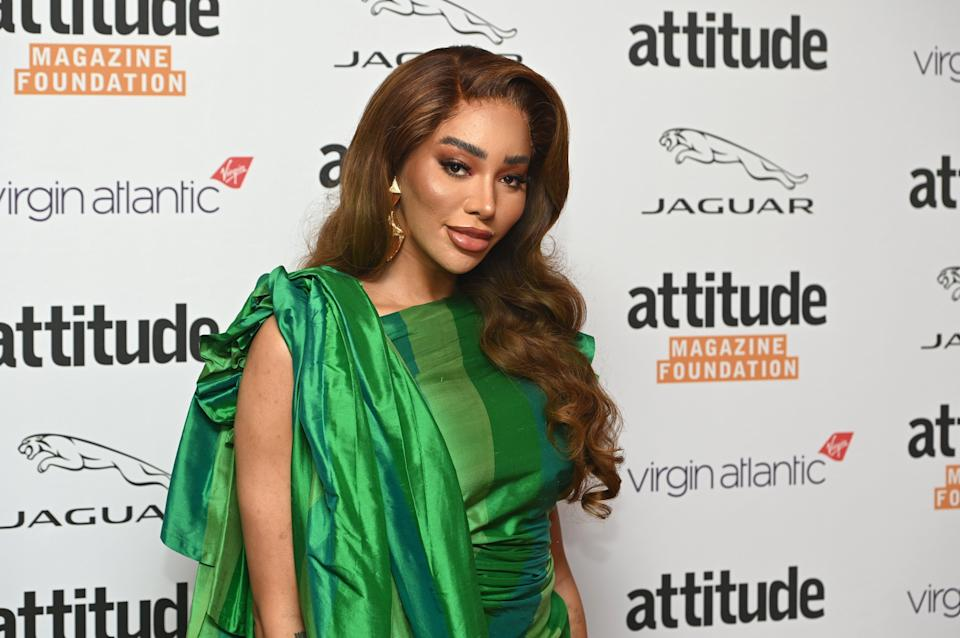 Fighting for rights: Munroe Bergdorf attends The Virgin Atlantic Attitude Awards 2021 at The Roundhouse on October 06, 2021 (Getty Images)