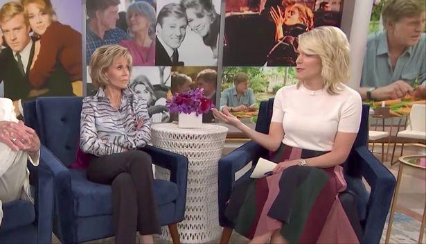 Jane Fonda, Megyn Kelly (Photo: NBC)