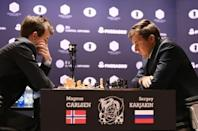 Russian and Norwegian battle for world chess crown