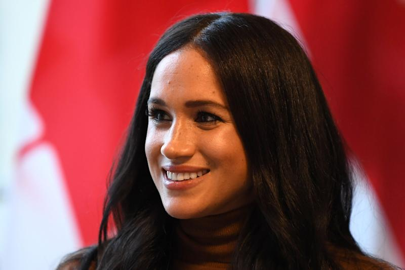 Meghan Markle pictured during her visit to Canada House on 7 January. [Photo: Getty]