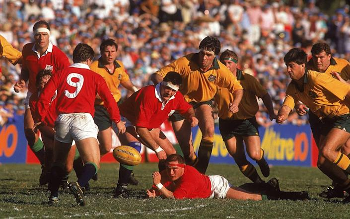 'The Battle of Ballymore' saw the Lions get back into the Test series with a 19-12 win before securing the series victory in the third match - GETTY IMAGES