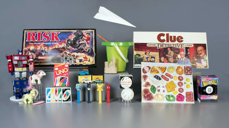 Paper airplane, sand among 12 finalists for Toy Hall of Fame