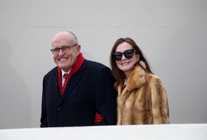 Rudy and Judith Giuliani Resolve Divorce Without a Trial