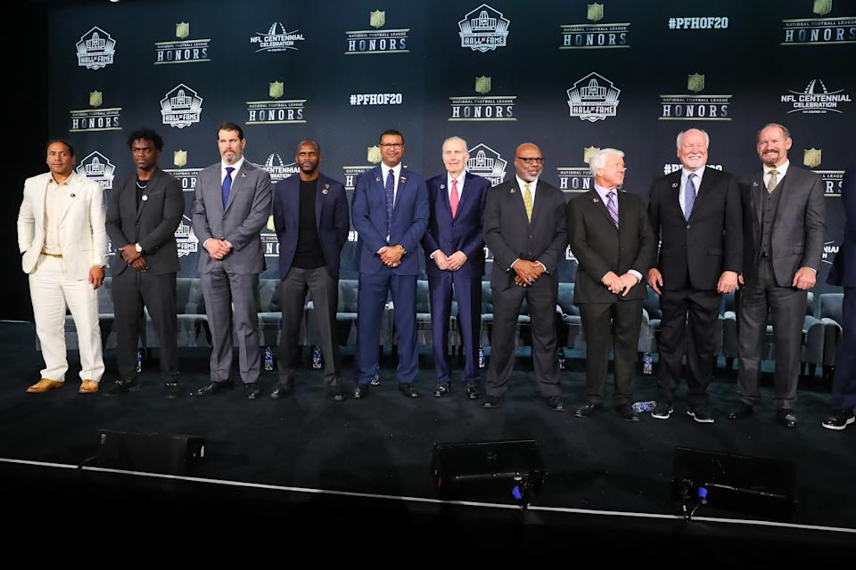 The Class of 2020 will have to wait a little longer to be enshrined into the Pro Football Hall of Fame. (Photo by Rich Graessle/PPI/Icon Sportswire via Getty Images)