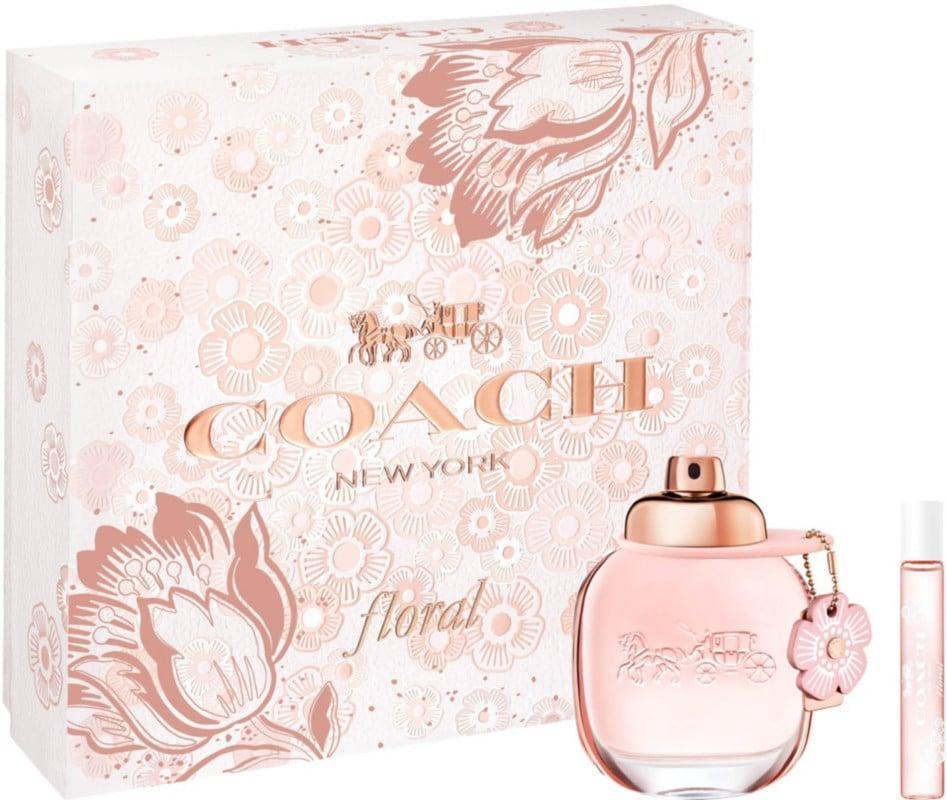 <p>They'll smile upon receiving this <span>Coach Floral Gift Set</span> ($82).</p>