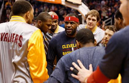 The Cavs need LeBron James to stay as engaged as he was in their loss to the Suns. (Getty Images)