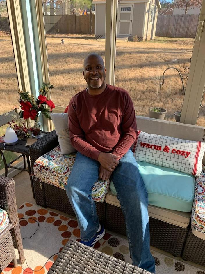 Garry Davis' biopsy revealed that not only did he have breast cancer, but it metastasized to his bones.