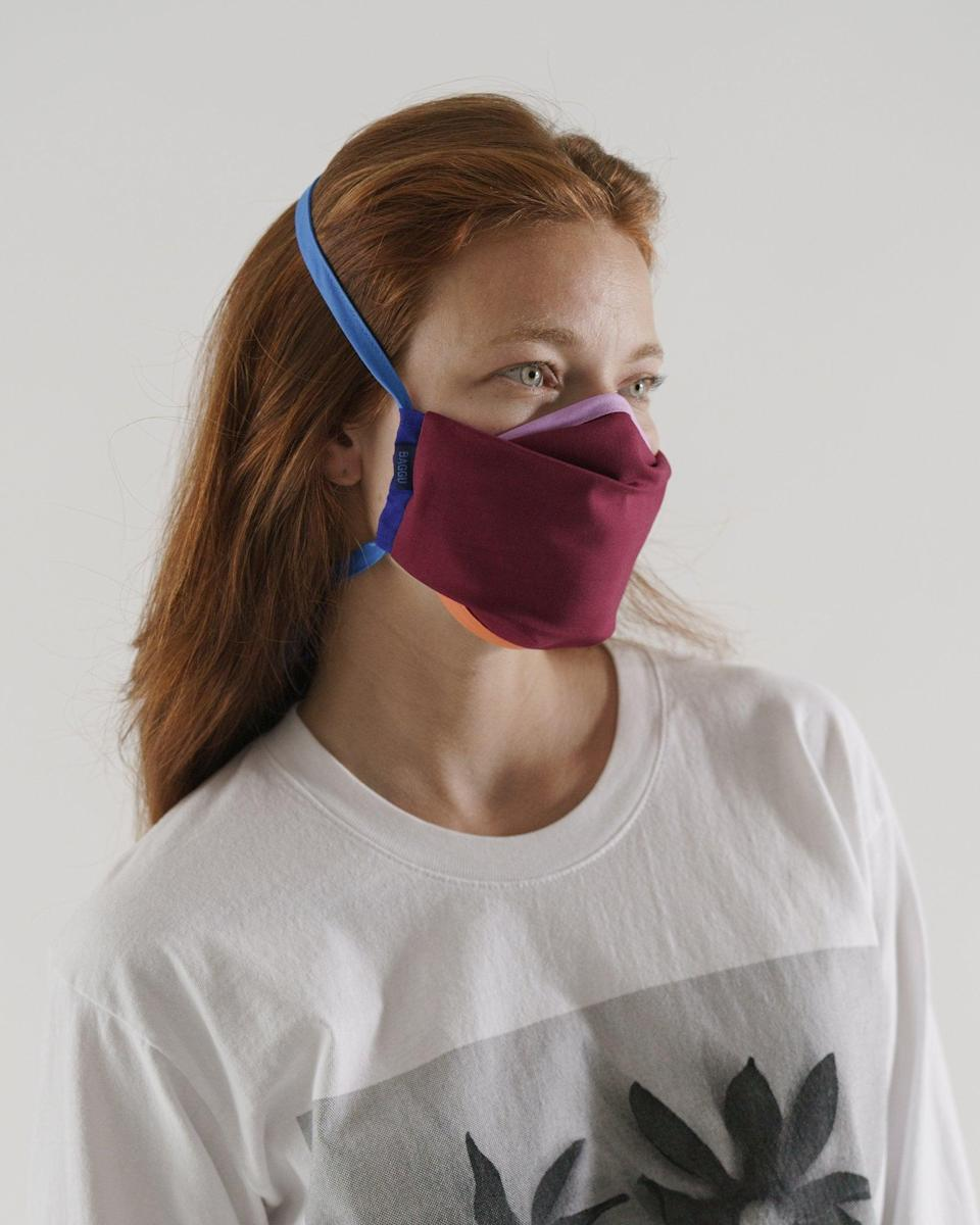 <p>These <span>Baggu Fabric Masks </span> ($32 for three) come in so many cute color combinations.</p>