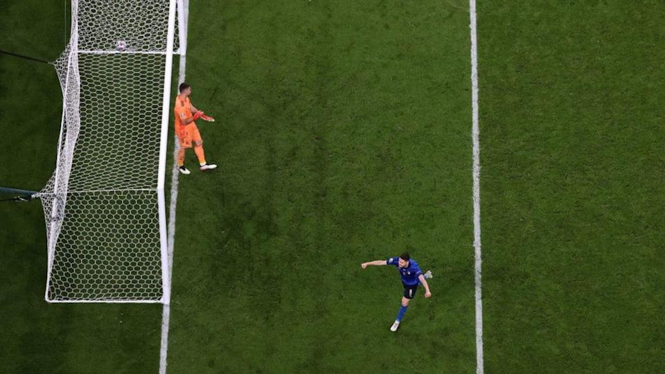 Jorginho gol, Italia in finale | Laurence Griffiths/Getty Images