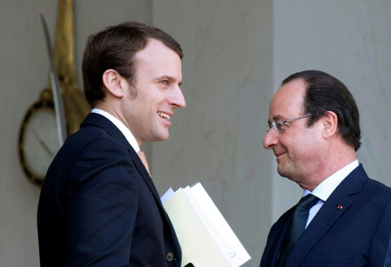Macron's critics have accused him of channelling his discredited mentor Francois Hollande
