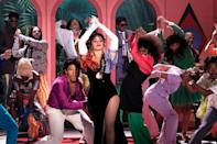 """<p>Camila Cabello performs her new single """"Don't Go Yet"""" on <em>The Tonight Show Starring Jimmy Fallon</em>.</p>"""