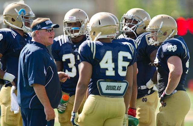 Notre Dame's Brian Kelly has 'unfinished business', eager to prove 2012 was no fluke