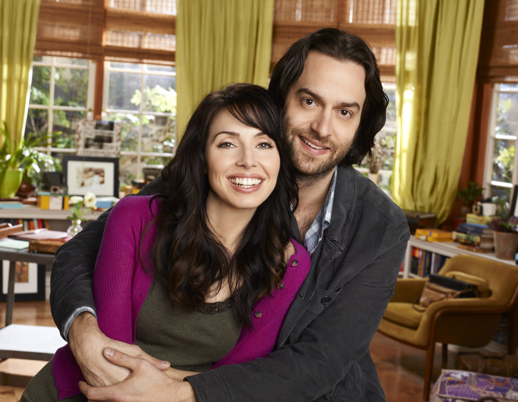 """<b>""""Whitney""""</b> (NBC)<br>Wednesdays at 8 PM<br><br><b>The Good News:</b> Critics shmitics! Despite having been pushed out of the network's Thursday night comedy lineup, its average in the demo is tied with """"Parks and Recreation"""" and higher than both """"Community"""" and """"30 Rock.""""<br><br><b>The Bad News:</b> It ain't exactly a hit either, and since NBC considers itself the home of """"smart"""" comedy, the show's future may depend on how committed NBC is to building a second comedy block."""