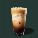 """<p>Is it a mouthful? Yes. But do you want to fill your mouth with it? Also, yes. Gaining popularity on TikTok, this <a href=""""https://www.delish.com/food-news/a35652107/starbucks-oat-milk-shaken-espresso/"""" rel=""""nofollow noopener"""" target=""""_blank"""" data-ylk=""""slk:new drink"""" class=""""link rapid-noclick-resp"""">new drink</a> takes an espresso and mixes it with brown sugar and cinnamon before being topping with oat milk. </p>"""
