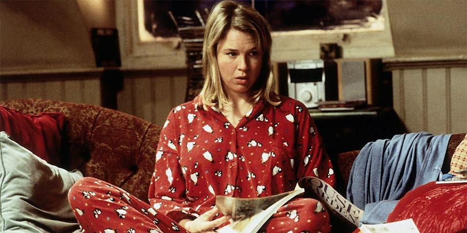 "<p>Bridget Jones—<a href=""https://www.youtube.com/watch?v=t8iTZm8-mbA"" rel=""nofollow noopener"" target=""_blank"" data-ylk=""slk:alone on the holidays"" class=""link rapid-noclick-resp"">alone on the holidays</a>, watching syndicated television, chugging red wine, impersonating Celine Dion, wearing red jammies—is all of us at some point. And the laughs don't stop 'til the credits roll. <a class=""link rapid-noclick-resp"" href=""https://www.amazon.com/dp/B00ID4HRYC?tag=syn-yahoo-20&ascsubtag=%5Bartid%7C10056.g.13152053%5Bsrc%7Cyahoo-us"" rel=""nofollow noopener"" target=""_blank"" data-ylk=""slk:Watch Now"">Watch Now</a></p>"