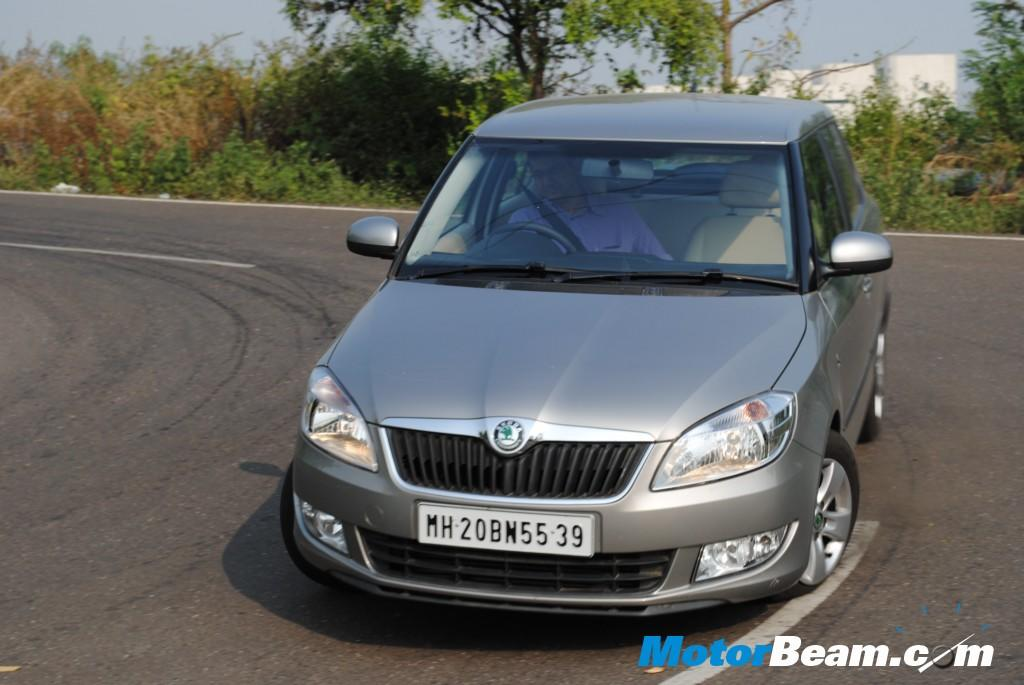 Skoda is offering cash discount of Rs. 20,000/- on the Fabia diesel.