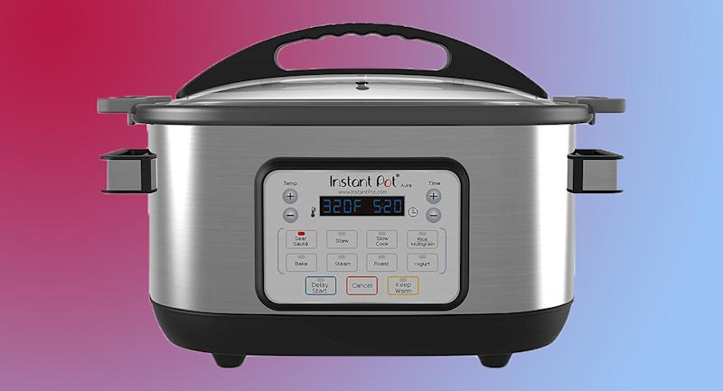 The Instant Pot Aura is nine appliances in one. (Photo: Amazon)