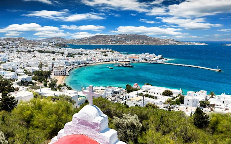 The profoundly beautiful Mykonos has been attracting a glamorous crowd since the 1950s
