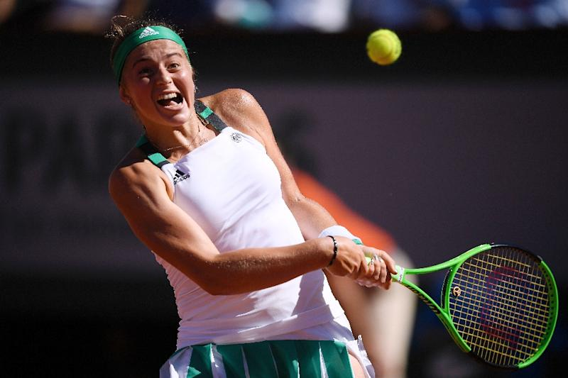 French Open 2017: Unseeded Jelena Ostapenko wins Latvia's first grand slam