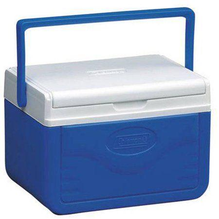 """<p><strong>Coleman</strong></p><p>amazon.com</p><p><strong>$12.35</strong></p><p><a href=""""https://www.amazon.com/Coleman-FlipLid-Cooler-Quart-Red/dp/B000IBWI42/?tag=syn-yahoo-20&ascsubtag=%5Bartid%7C10055.g.2137%5Bsrc%7Cyahoo-us"""" rel=""""nofollow noopener"""" target=""""_blank"""" data-ylk=""""slk:Shop Now"""" class=""""link rapid-noclick-resp"""">Shop Now</a></p><p>Coleman is a ubiquitous brand that has been making coolers since the 1950s. The Coleman 5 Quart FlipLid weighs in less than two pounds and it can keep six cans with ice cold for over one day. It features a <strong>sliding lid that doubles as a serving tray with two cupholders when flipped over </strong>and a pail-style plastic handle that makes it easy to carry. The best part? It's less than $15! Our testers found the Coleman FlipLid a great alternative to a traditional soft-sided lunch bag (even for kids) because your food and snacks won't get crushed.</p>"""