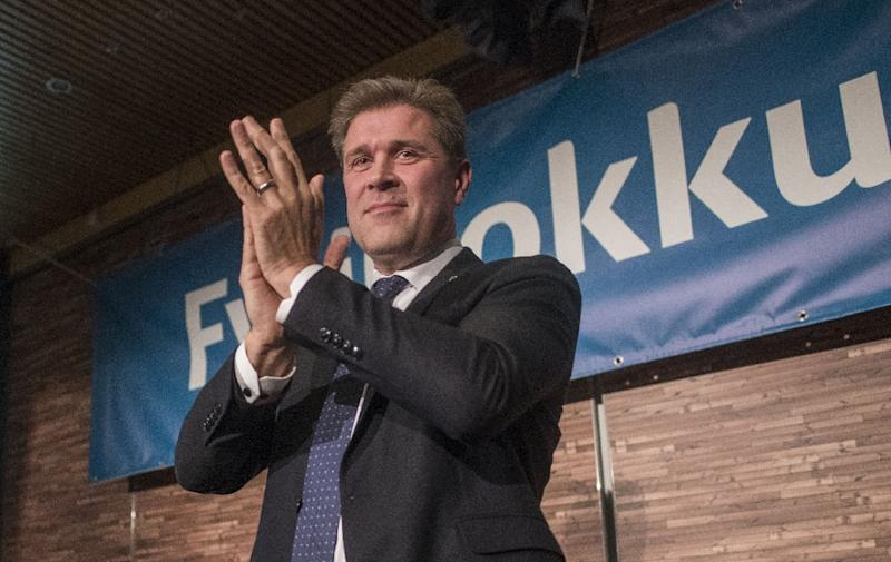 Bjarni Benediktsson has survived a string of scandals at the head of the conservative Independence Party (AFP Photo/Halldor KOLBEINS)