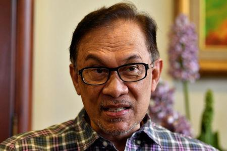 Malaysian politician Anwar Ibrahim speaks to Reuters during an interview at his house in Kuala Lumpur, Malaysia May 17, 2018. REUTERS/Stringer