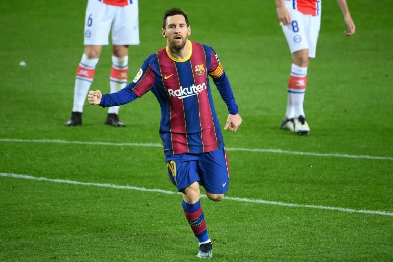 Messi is hoping to win his fifth Champions League title this season