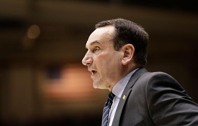 On the heels of watching another freshmen-led class underachieve in March, Mike Krzyzewski has another elite recruiting haul. (AP)