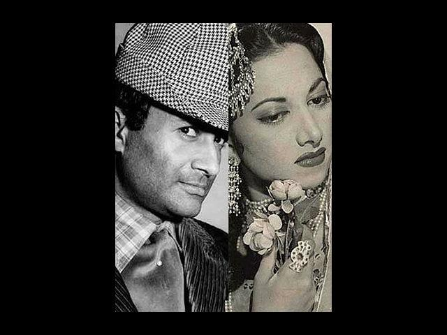 <b>Dev Anand and Suraiya</b><br>The girl with a golden voice Suraiya met the debonair Dev Anand when she was just in her teens. She was on the peak of her career while Dev was just another debutant in the industry. However, love is too big an emotion to consider such differences. Soon these two good-looking stars fell in love. However, due to unprecedented family pressures especially from Suraiya's grandmother, this love story could not have a happy ending.