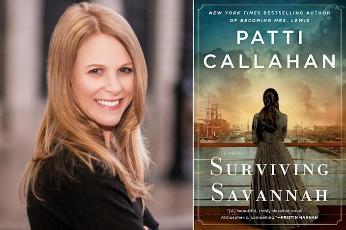 "<p>""The spring is full of spectacular releases, but Patti Callahan's deeply researched <i>Surviving Savannah </i>stands out for its unique subject matter. It's based on the true story of a doomed ship known as the ""Titanic of the South,"" which sank off the Carolina coast in 1838. The book's fascinating core question — 'How do we survive the surviving?' — resonates deeply in 2021, too."" — Kristin Harmel, <em>The Book of Lost Names</em></p>"