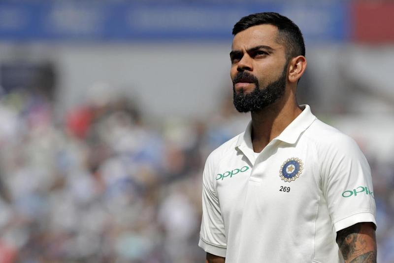 Good news: Kohli will be fit to play (AFP/Getty Images)