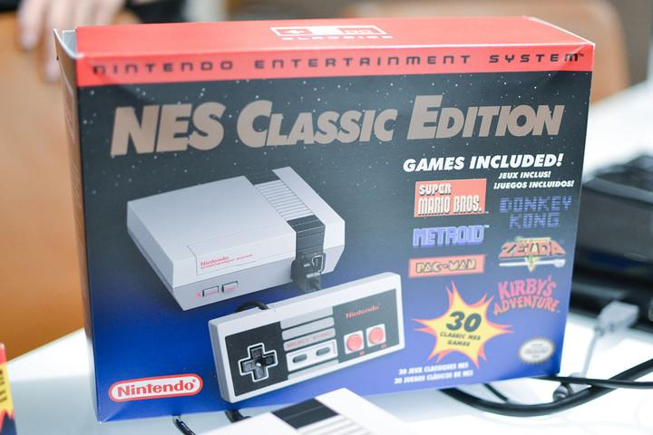 nintendo nes classic edition hands on ho
